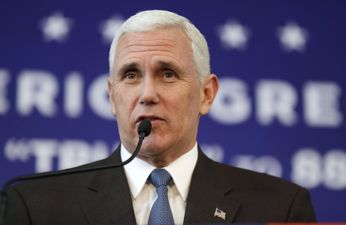 Donald Trump's running mate Mike Pence says he is fine.