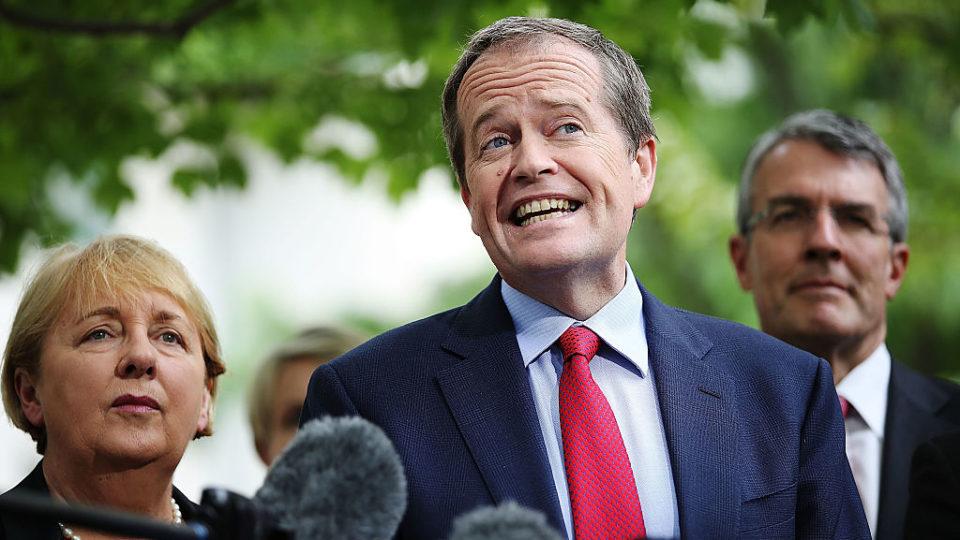 Shorten attacks Turnbull on morals