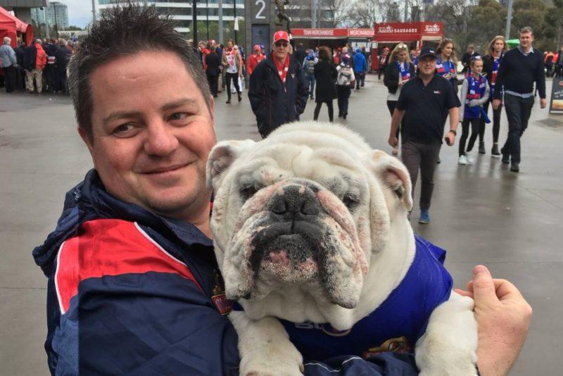 Bulldogs mascot Sid