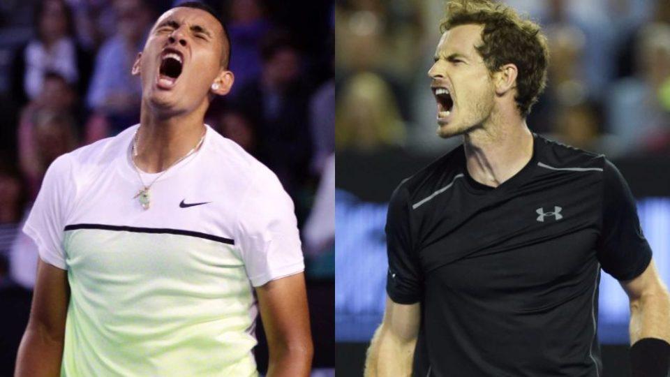Kyrgious Andy Murray backing