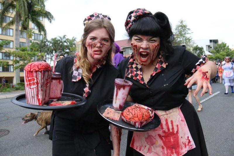waitress zombies