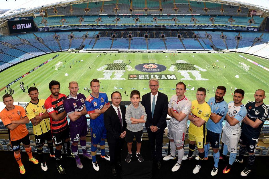 A-League captains