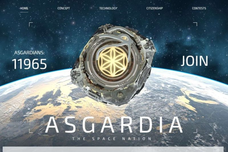 Asgardia is limiting the number of people signing up to be citizens to 100,000 until the first satellite launches.