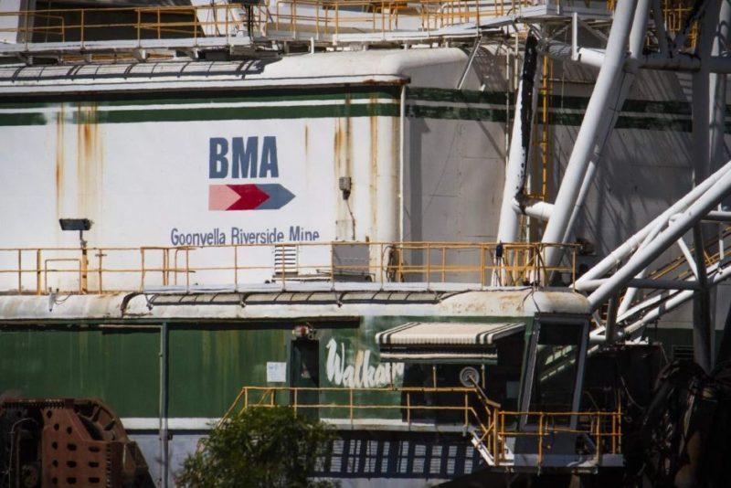 BMA's open-cut mine
