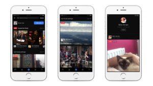 Facebook live render iphone