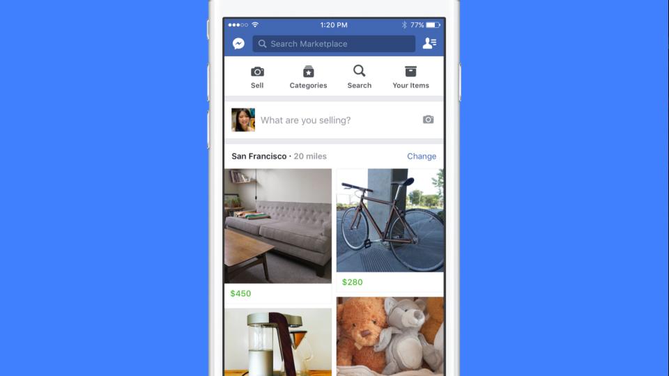Facebook Marketplace iPhone