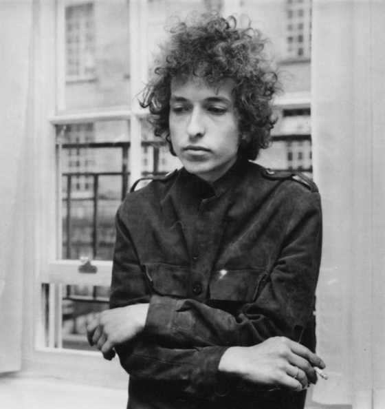 Dylan (pictured in 1966) is famously private. Photo: Getty