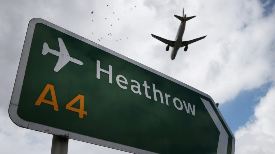 Heathrow airport drone sighting