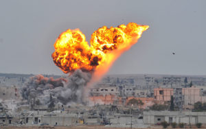 ISIL explosion