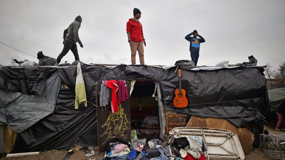 The Jungle Calais migrants