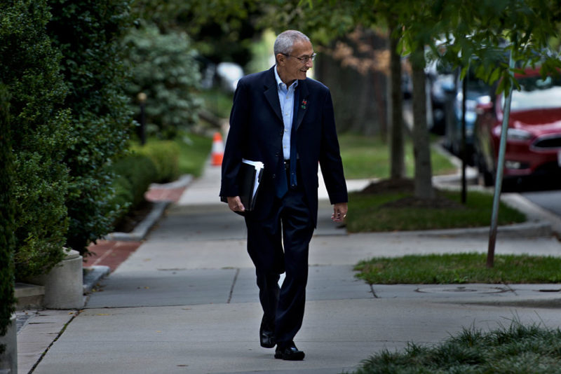 The leaks do not show any response from john Podesta. Photo: Getty.
