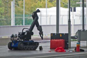 Chemnitz bomb robot