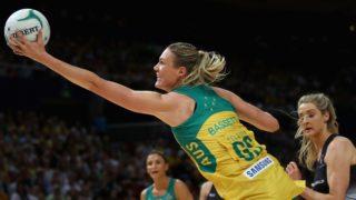 Australian goal shooter Caitlin Bassett was near unplayable.