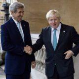 Boris Johnson John Kerry Syria