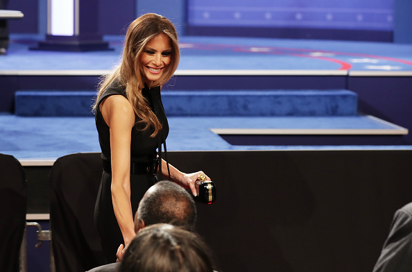 Melania Trump did not receive an apology from Mr Trump over the allegations. Photo: Getty