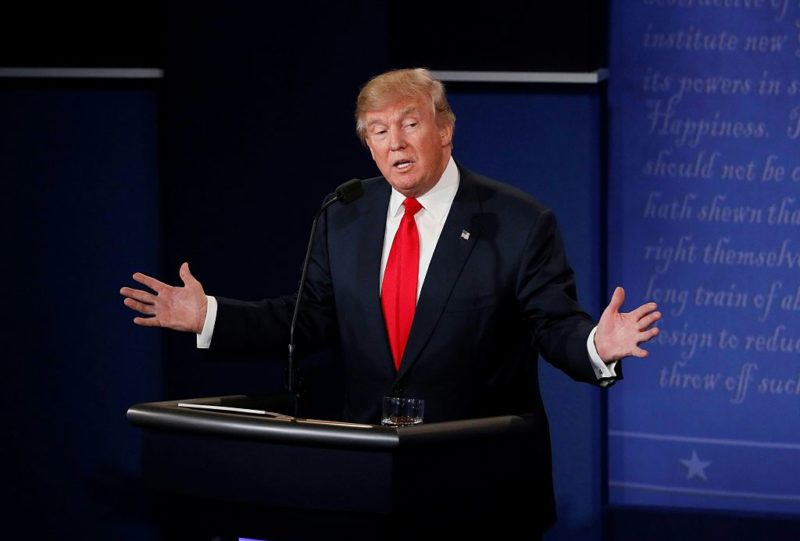 debate trump