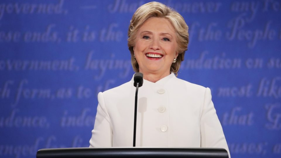 The Funny Thing About Hillarys Smile  The New Daily-1848