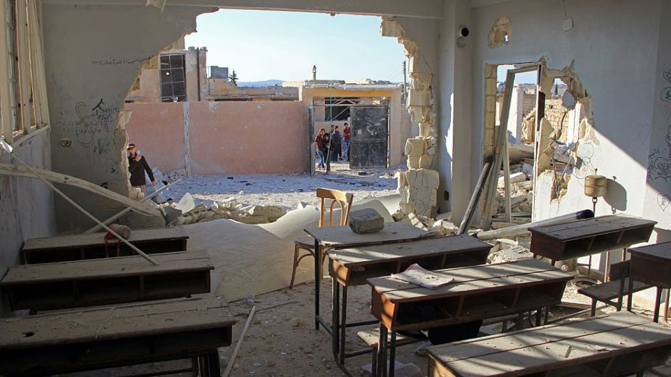 Wednesday school bombing may be deadliest of Syria war