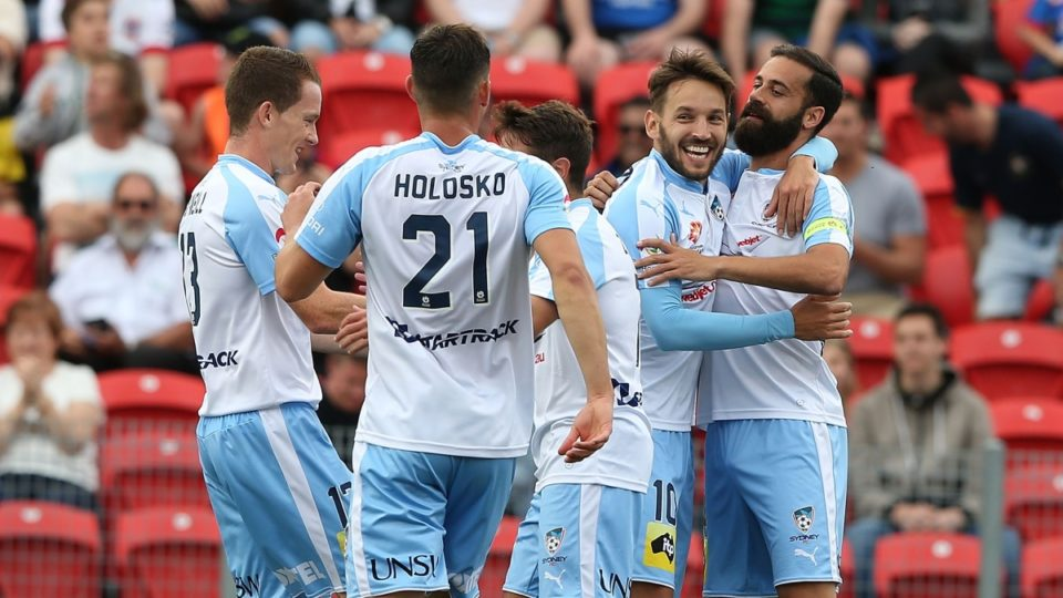 Sydney FC makes it four wins from four A-League matches.