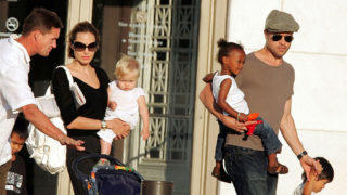 After an acrimonious split punctuated by leaks and accusations, Angeline Jolie claims she and Brad are still a family.
