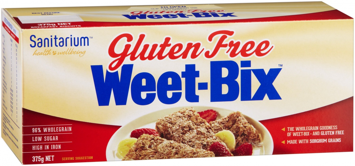 Even Weet-Bix has got in on the gluten free action.