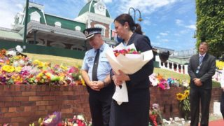 Annastacia Palaszczuk at Dreamworld