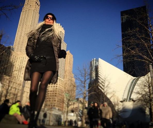 Rossi's Instagram feed documents her travels around the world. Photo: Instagram