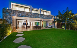 The former model has put her designer beach house up for sale.