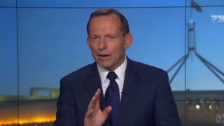 Tony Abbott has denied criticising the Turnbull government over gun laws