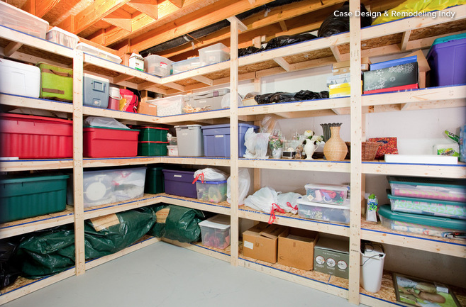 If you've got more space than stuff, make the most of the extra room. Photo: Houzz/Case Design & Remodelling Indy