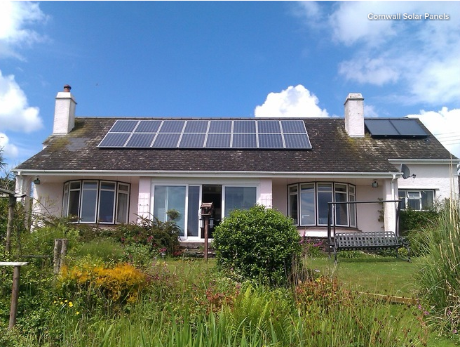 Free solar panels means free power! Photo: Houzz/Cornwall Solar Panels