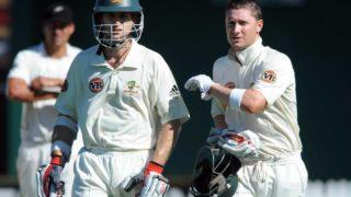 Simon Katich and Michael Clarke