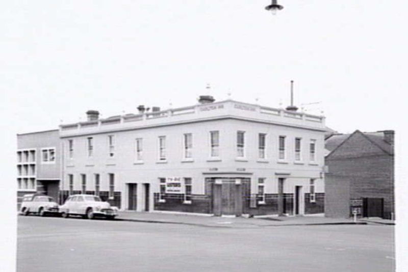 The pub in 1957 when it was known as the Carlton Inn Hotel.