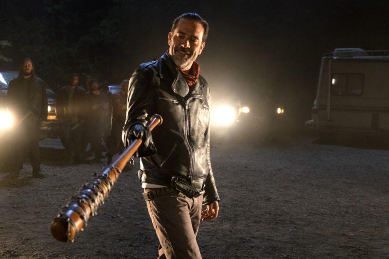 Jeffrey Dean Morgan as Neganappears in a scene from 'The Walking Dead.'