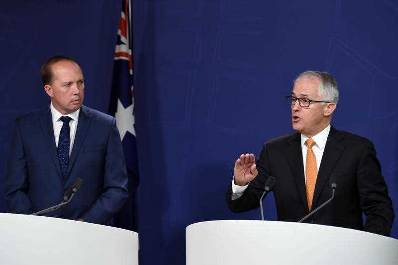 Turnbull Dutton refugees
