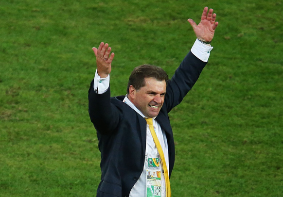 ange postecoglou world cup