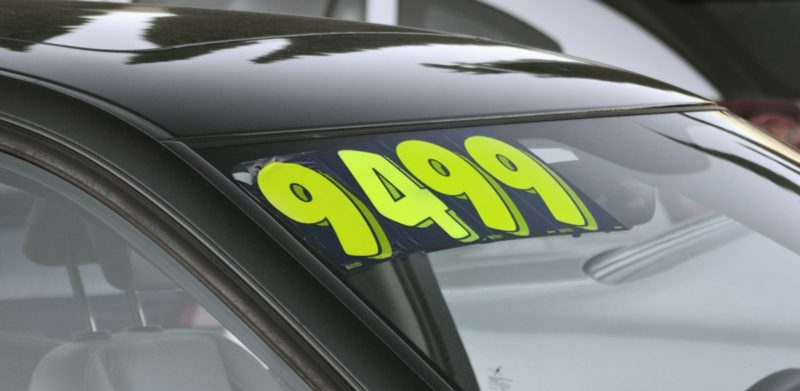 How Much Can A Used Car Price Be Negotiated