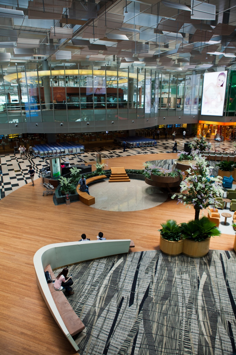 No surprises here - Singapore's Changi airport is regularly voted the world's best. Photo: Getty