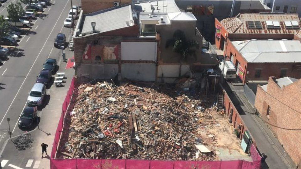 Corkman pub demolition