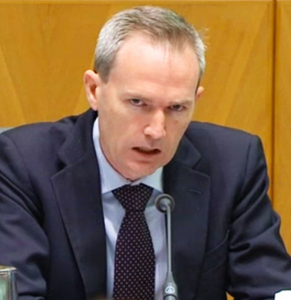 Liberal MP David Coleman headed the parliamentary committee. Photo: AAP.