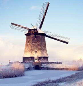 Dutch windmill. Photo: AAP