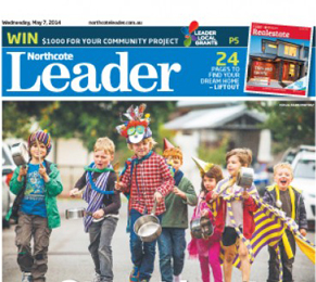 Leader newspapers are published locally in Melbourne suburbs.