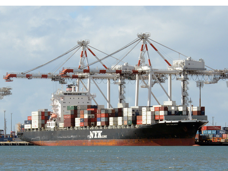 Ports protect super from financial storms. Photo: AAP