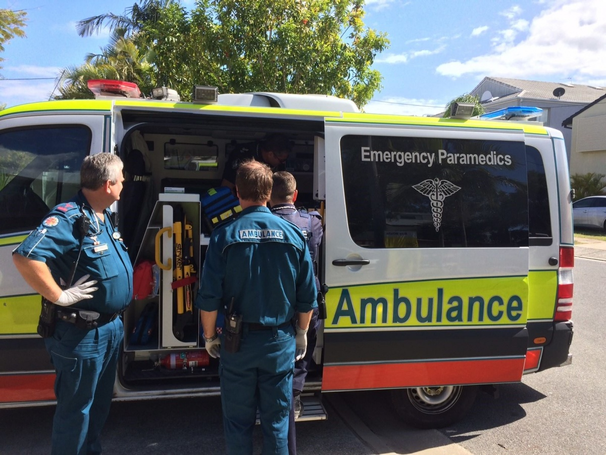 Resources were stretched to their limits on the Gold Coast on the weekend. Photo: QAS