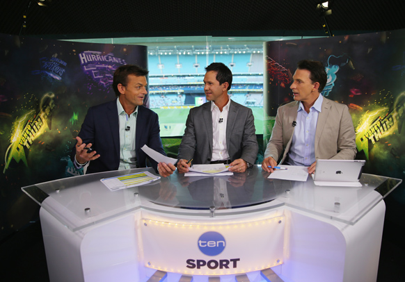 channel nine cricket
