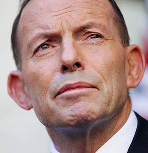 Former prime minister Tony Abbott successfully delayed the compulsory super increase when he was in power. Photo: Getty