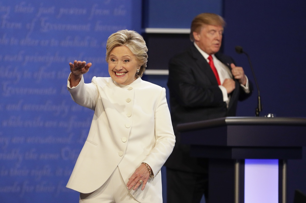 Hillary Clinton trump debate