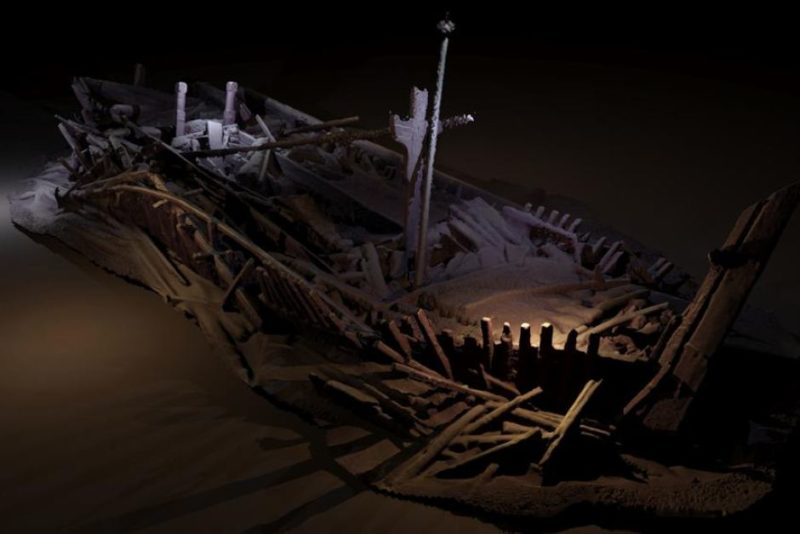 Some wrecks found, including this one, were from the Ottoman Empire.