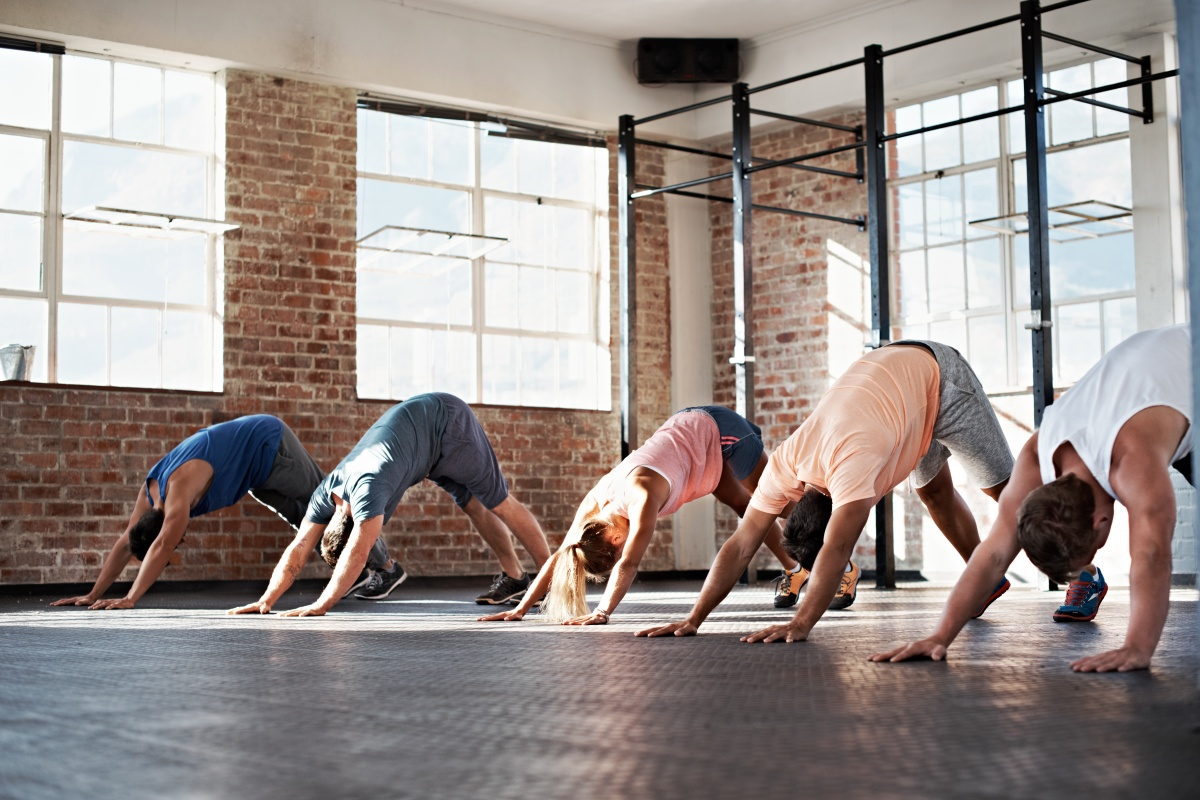 Take up yoga and perfect your downward-facing dog. Photo: Getty