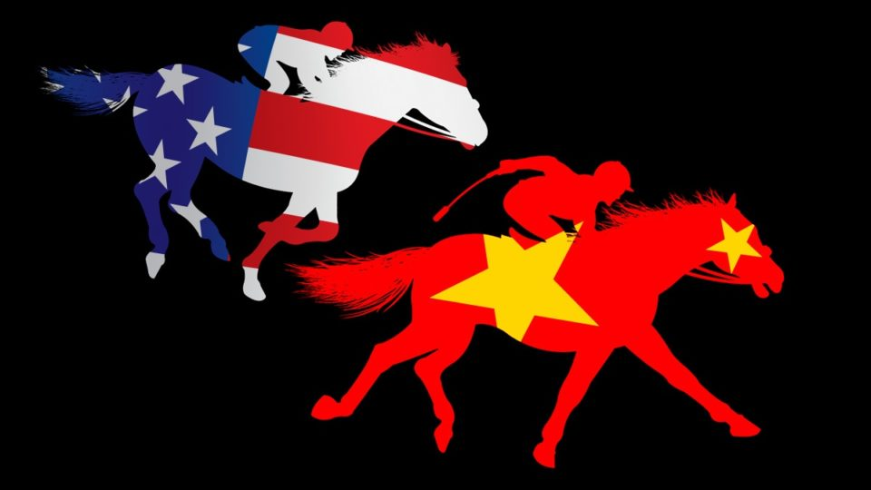 Australia may be backing the wrong horse in the global economic race.